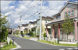 あさひリニアタウンの街並イメージ